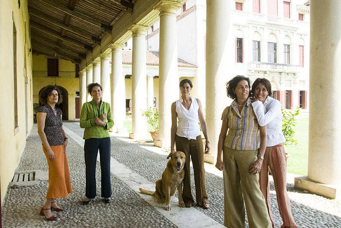 Le cinque sorelle della famiglia Bianchi Michiel di Villa Angarano