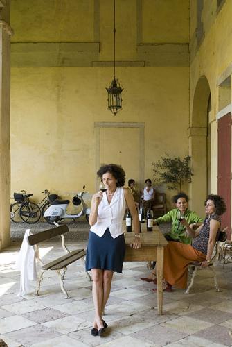 Le cinque sorelle Bianchi Michiel di Villa Angarano